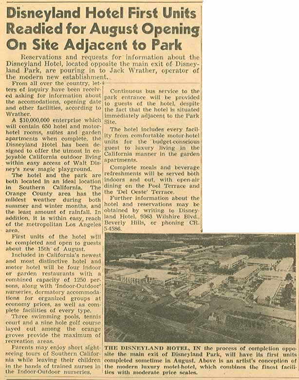 Disney Times article 7-1955
