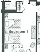 president's suite floorplan